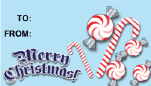 Merry Christmas Candycanes